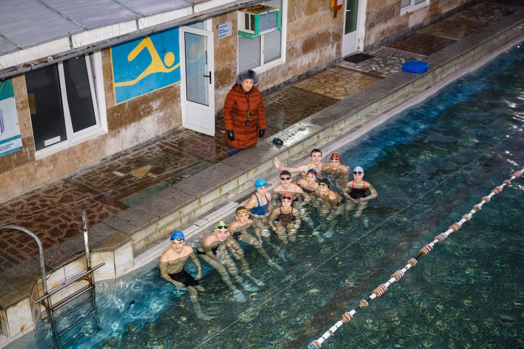 """""""Dinamo"""" swimming pool is transforming into a modern natation center, with UNDP support"""