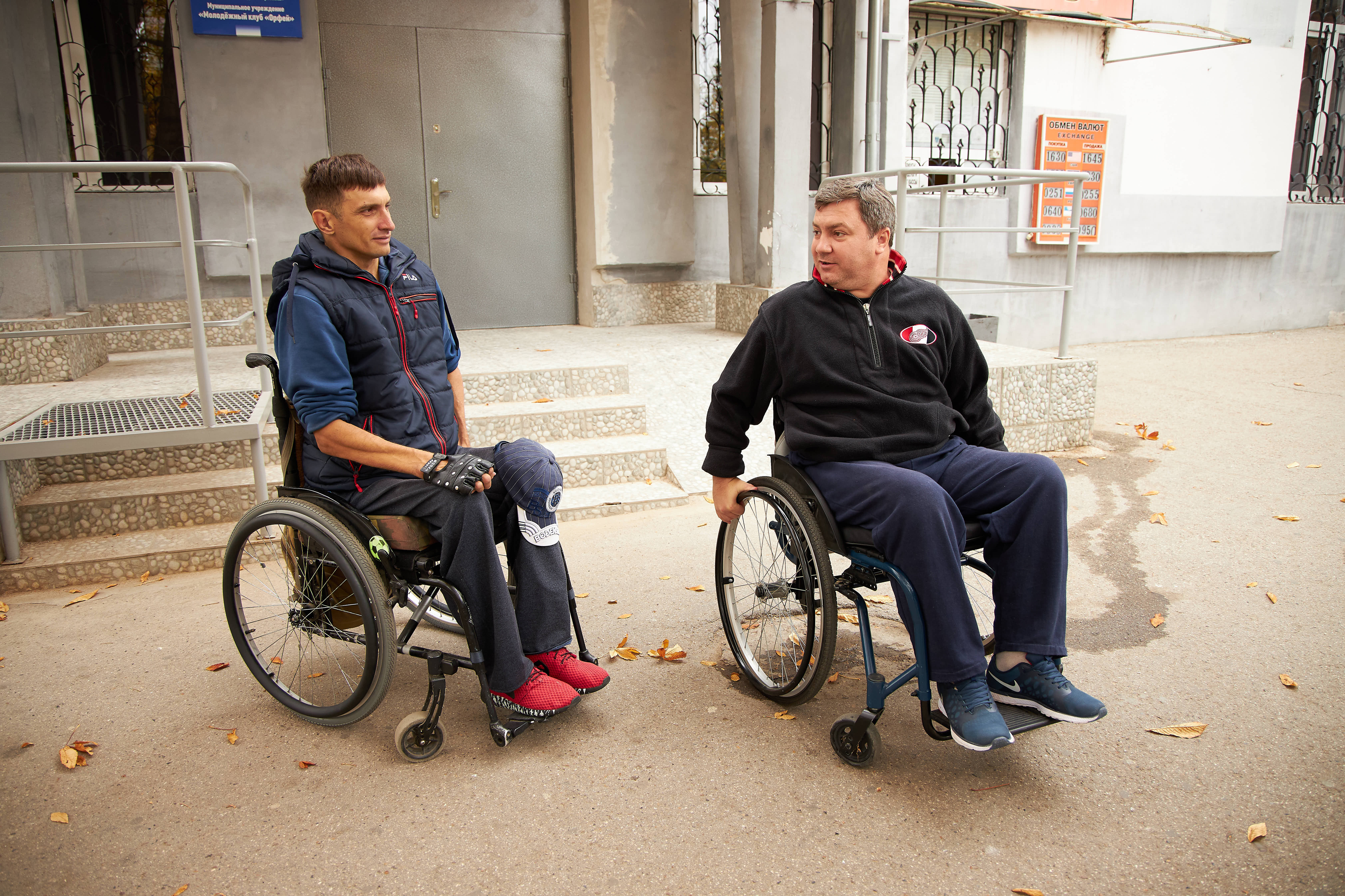 Through civic activism, Vitalii Slipcenco from Tiraspol transforms his environment into an accessible one for people with disabilities