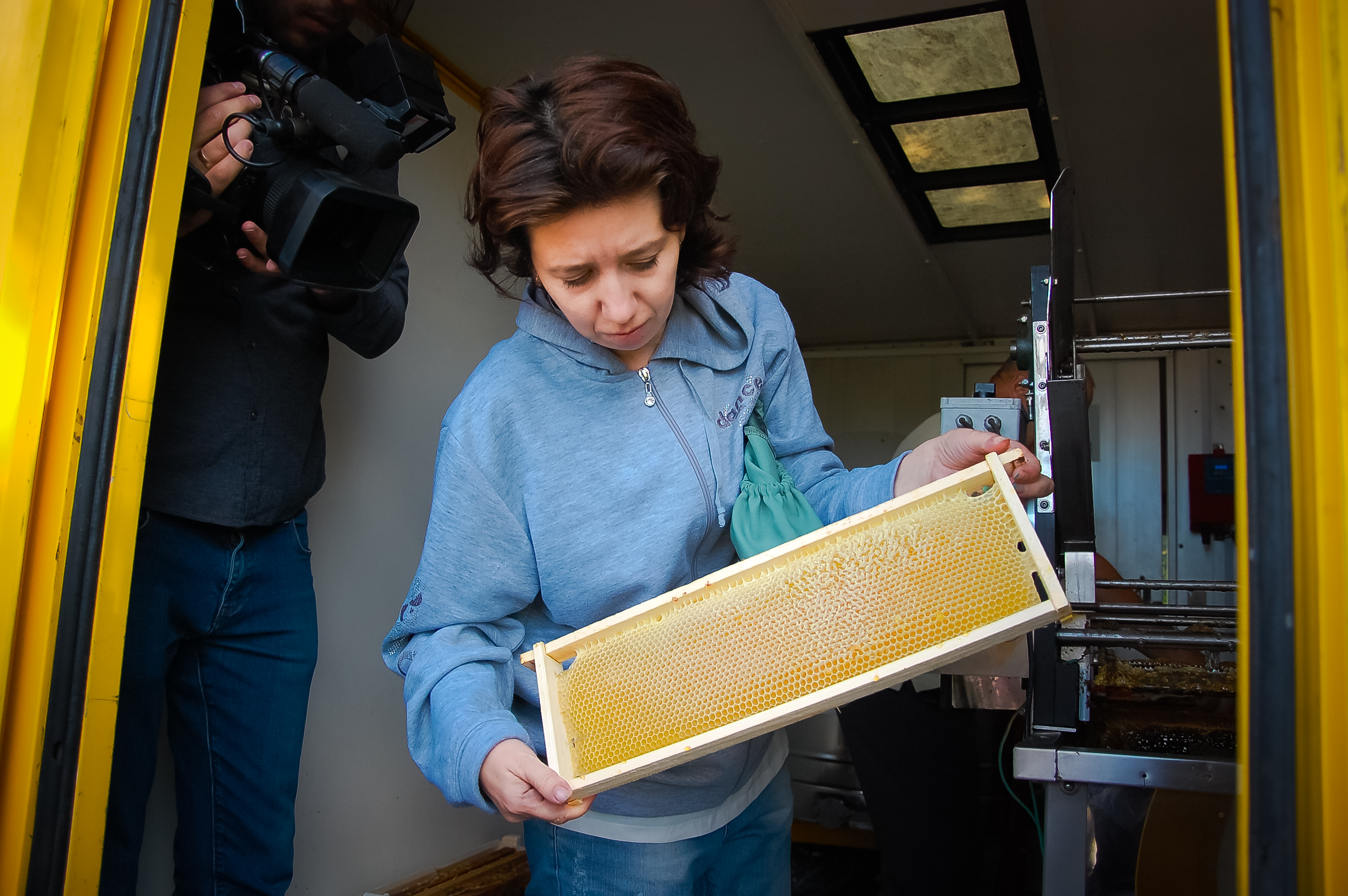 Science of beekeeping, mastered by a woman from Speia village