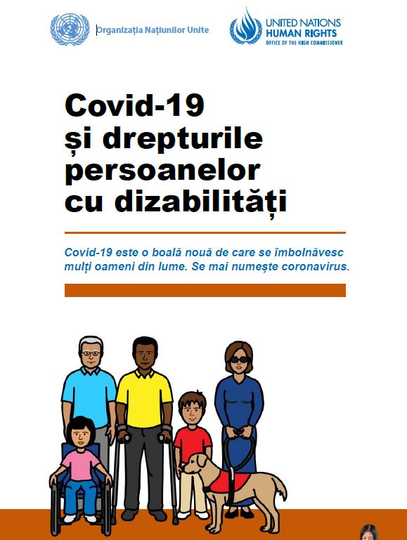 Covid-19 și drepturile persoanelor cu dizabilități