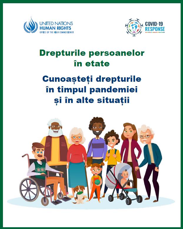 Drepturile persoanelor în etate. Cunoașteți drepturile în timpul pandemiei și în alte situații