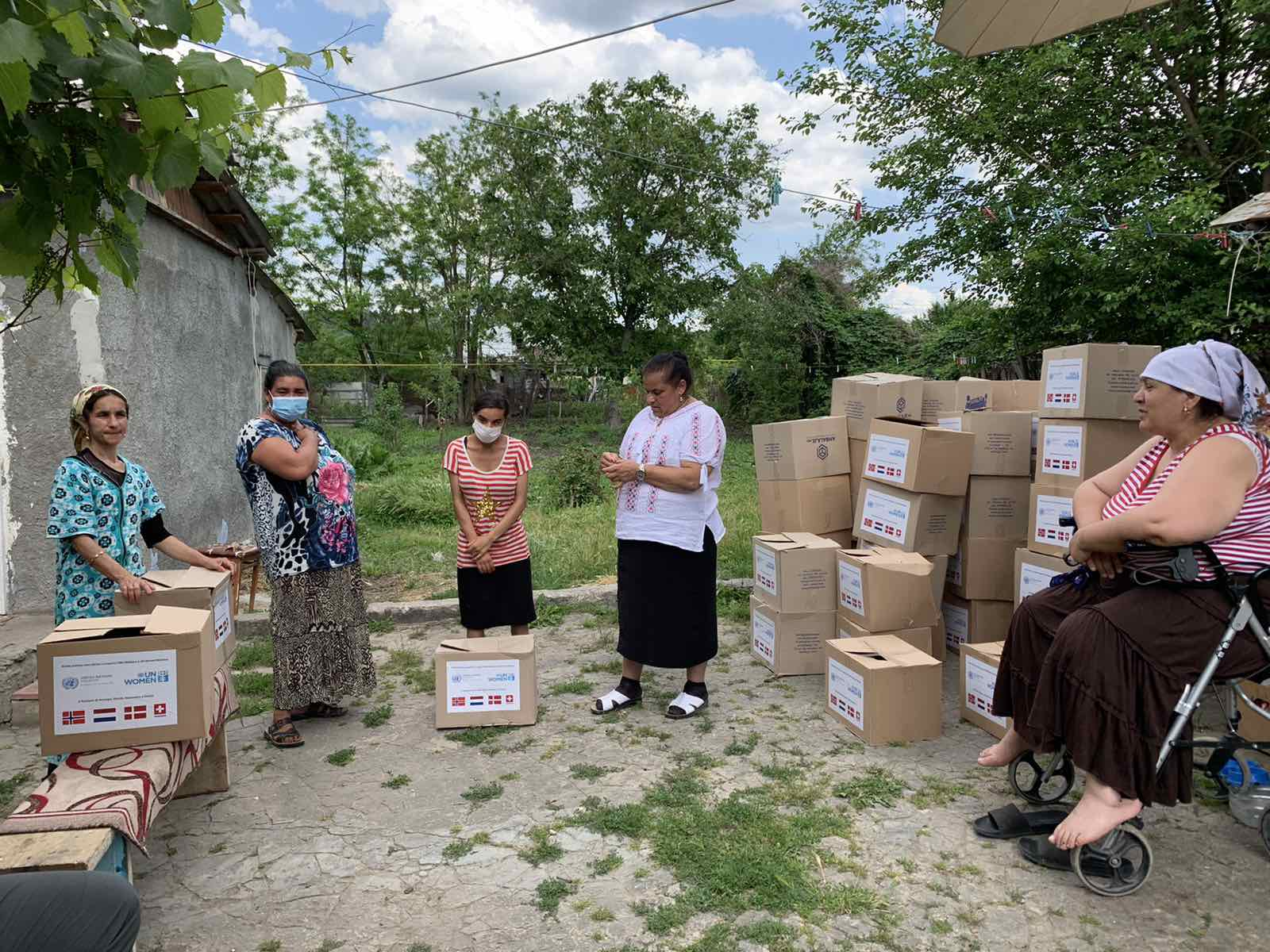 UN Moldova provided support to the Roma community from the Transnistria region to cope with the impact of the pandemic