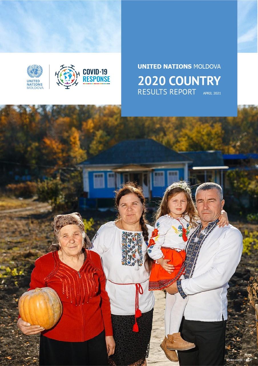 UN Moldova 2020 Country Results Report