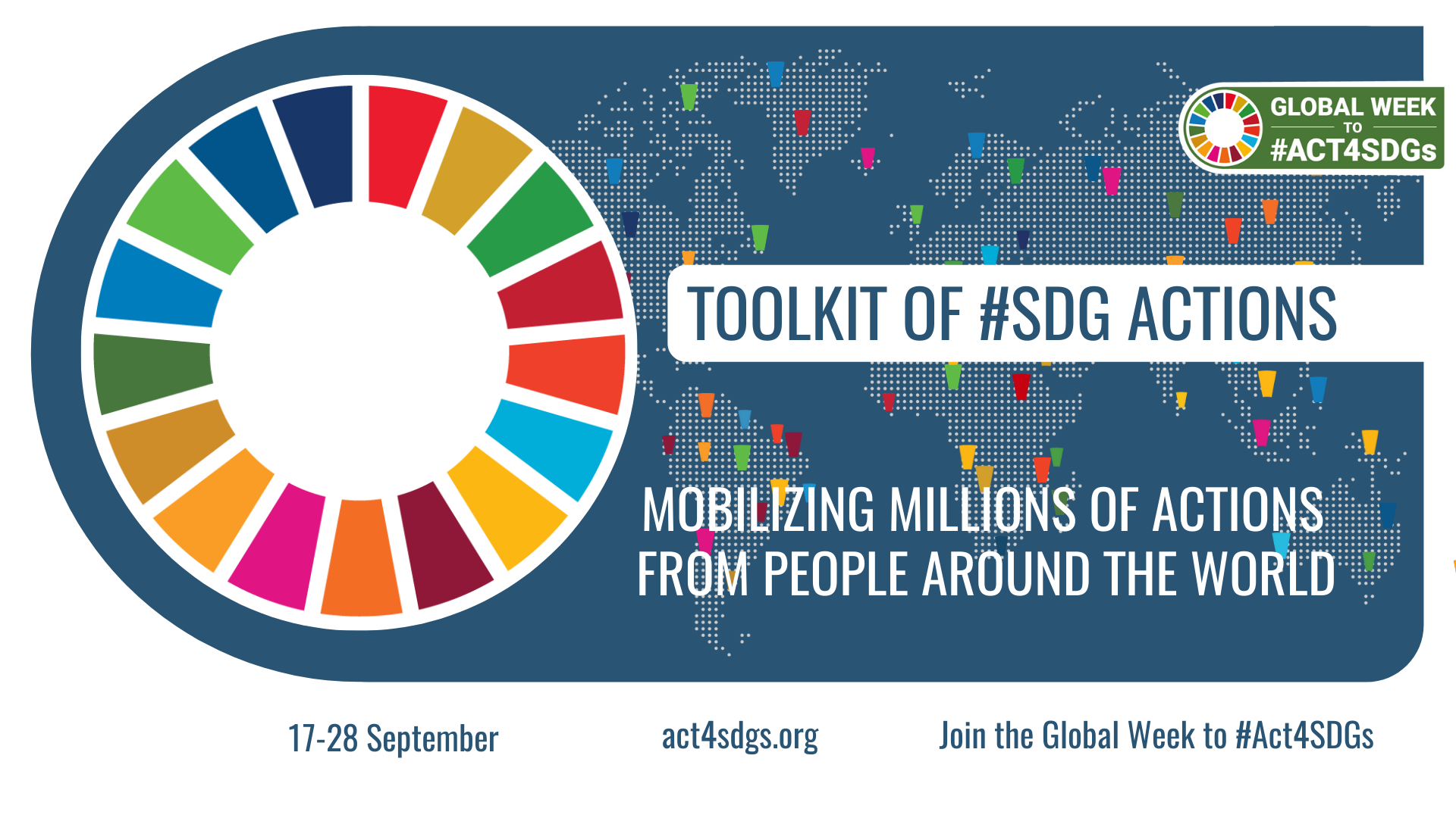 Mobilizing millions of actions to #TURNITAROUND for the SDGs