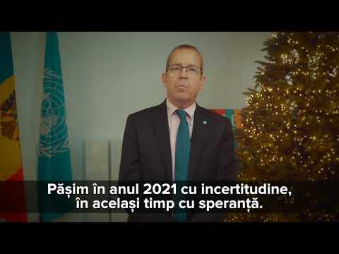 Season's Greetings from Simon Springett, UN Moldova Resident Coordinator
