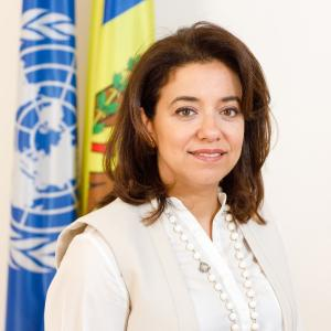 Dima Al-Khatib, UNDP Resident Representative for the Republic of Moldova
